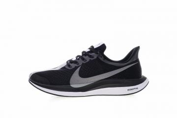 bb7efff2ec0 Nike Zoom Pegasus 35 Turbo Running Shoes Black Grey Sneakers AJ4115-001