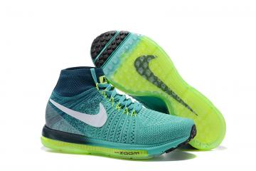a562c36e60a56b Nike Zoom All Out Flyknit Spring Green Men Running Shoes Sneakers Trainers  844134-313