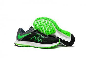 a77d1c39c7b0 Nike Zoom Winflo 3 Light Green Black Men Running Shoes Sneakers Trainers  831561