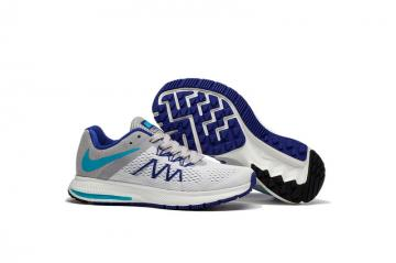 9624c57e6cb9 Nike Zoom Winflo 3 White Grey Blue Purple Women Running Shoes Sneakers  Trainers 831561