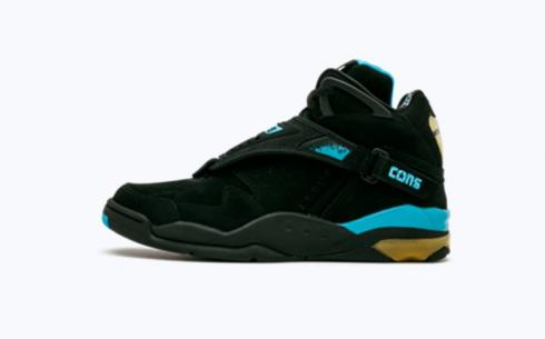 Converse Aero Jam Hi Black Peacoc Shoes