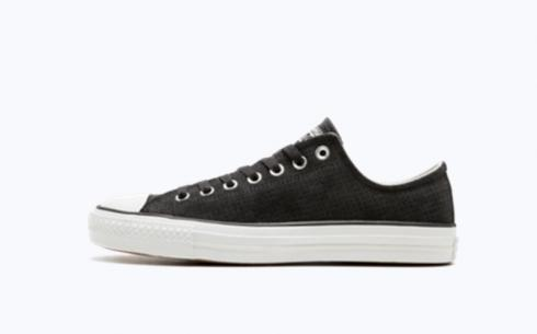 Converse CTAS Pro Ox Almost Black Egrey Whie Shoes