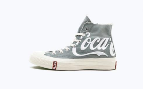 Converse Kith Coca Cola Converse Grey White Red Shoes