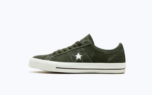 Converse One Star Pro Ox Sequoia Sequoia White Shoes