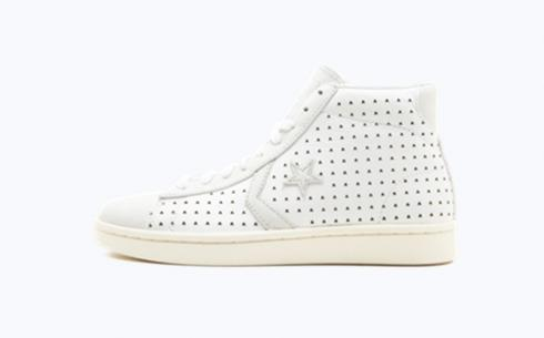 Converse Pro Leather Mid White Star Shoes