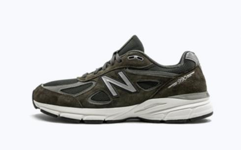 New Balance 990 Military Green Athletic Shoes