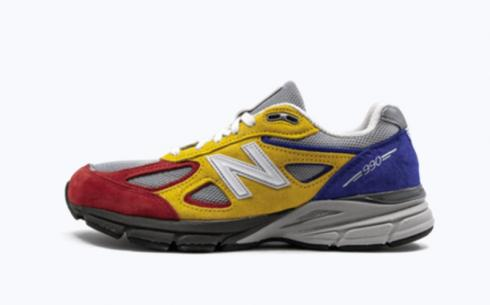New Balance 990 Multi Color Athletic Shoes