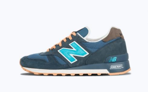 New Balance M1300 Navy Gum Athletic Shoes