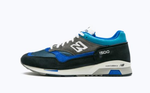 New Balance M1500 Blue Athletic Shoes
