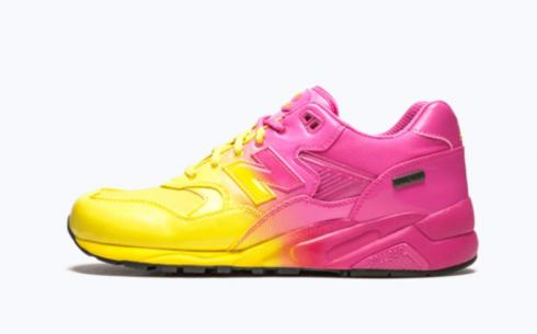 New Balance MTg580 Pink Yellow Shoes