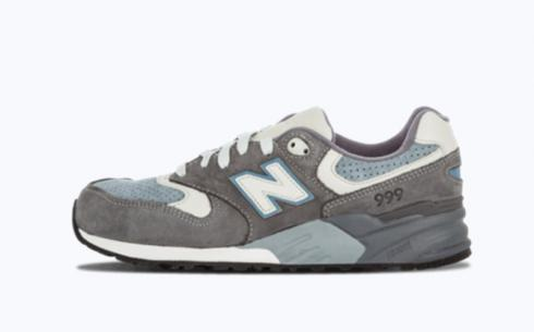 New Balance Ml999 Steel Blue Athletic Shoes