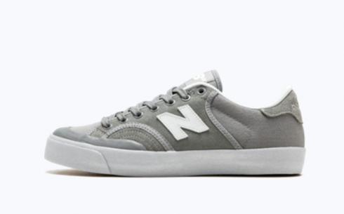 New Balance Nm212Gwy Grey White Athletic Shoes