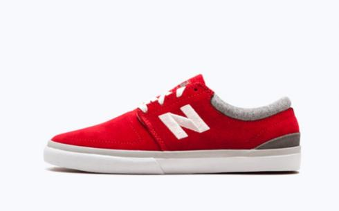 New Balance Nm344Hrc Red White Athletic Shoes