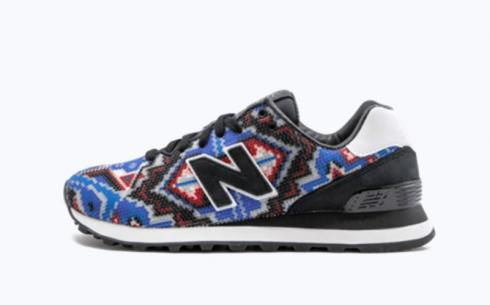 New Balance Ul574RS2 Black White Multi Athletic Shoes