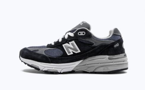 New Balance Wr993 Navy Grey White Athletic Shoes