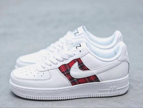 Off White X Nike Air Force 1 Low Black White Green 596728-919 - Febbuy 26d51b0d5e