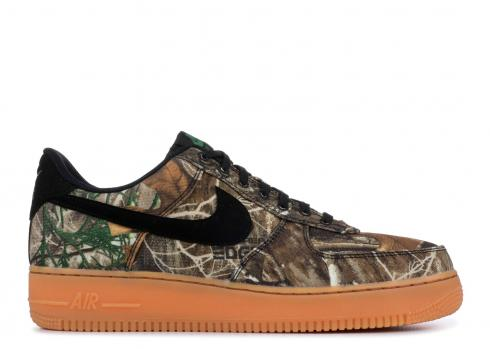Nike Air Force 1 Low Realtree Black AO2441-001