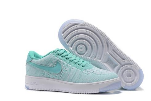 online store dcb9f 65af9 WMNS Nike AF1 Flyknit Low Air Force Atomic Pink White Casual Shoes ...