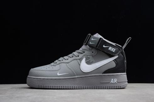 ab1f0ae3 Nike Air Force 1 Mid 07 LV8 Utility White Black 804609-103 - Febbuy