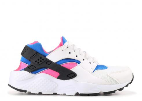 17d69f28760 Nike Air Huarache Run GS White Black 654275-011 - Febbuy