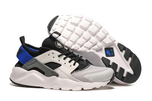 premium selection c97f6 01f57 Prev Nike Air Huarache Run Ultra White Black Blue Men Women Running Shoes  819685-100