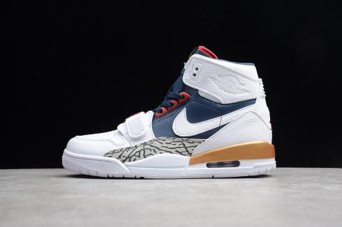 Nike Air Jordan Legacy 312 White Navy AV3922-101
