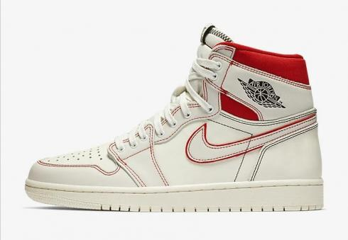 sports shoes abb42 dd090 Nike Air Jordan 1 Retro High OG AJ1 Gold Toe 555088-510 - Febbuy