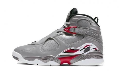 Air Jordan 8 Reflections of a Champion Silver Hyper Blue True Red CI4073-001