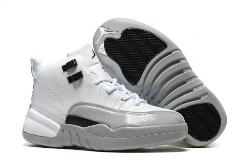 quality design c390d cf7e7 Nike Air Jordan XII 12 Kid Children Shoes White Pink 510815-109 - Febbuy