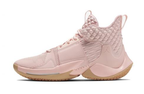 Jordan Why Not Zer0.2 Cotton Shot Washed Coral Gum Yellow Storm Pink Pure Platinum AO6219-600