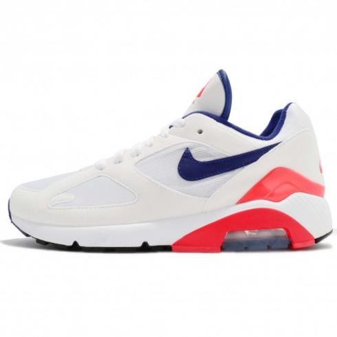 Nike WMNS Air Max 180 Ultramarine White solar Red black AH6786-100