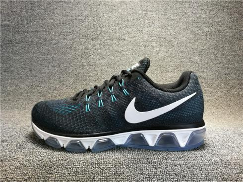 Nike Air Max 20K T8 TAILWIND 8 Black Blue White Varsity 805941-005