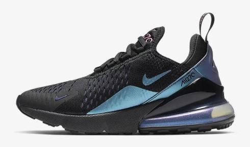 Nike Air Max 270 Black Regency Purple Anthracite Laser Fuchsia AH6789-011