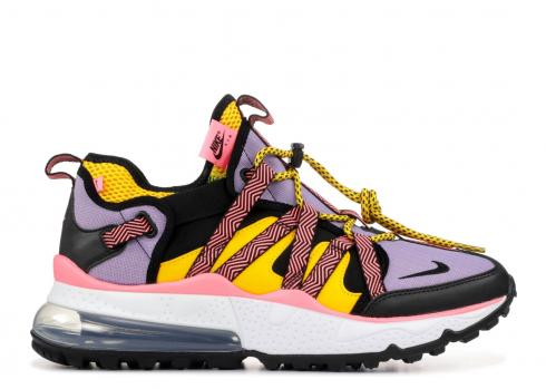 Nike Air Max 270 Bowfin Black Atomic Violet Amarillo AJ7200-004