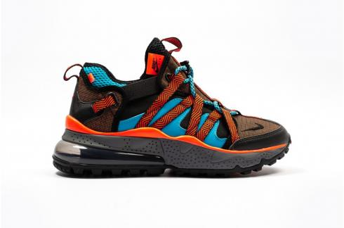Nike Air Max 270 Bowfin Dark Russet Black Bright Crimson AJ7200-200