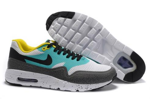 the best attitude 3ac62 6611a Prev Nike Air Max 1 Ultra Essential White Black Emerald Green Silver 819476- 103