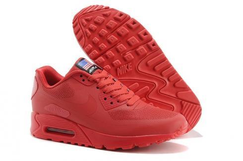 quality design e1b13 4aeeb Nike Air Max 90 Hyperfuse QS Women Shoes All Fushia Red July 4TH ...
