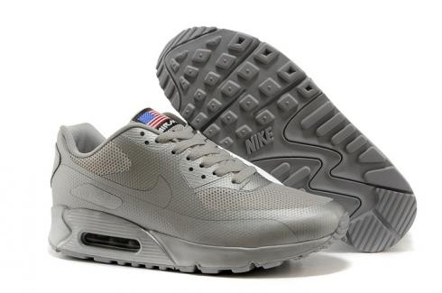 sports shoes 2fad6 f1f38 Prev Nike Air Max 90 Hyperfuse QS Sport USA All Silver July 4TH Independence  Day 613841-