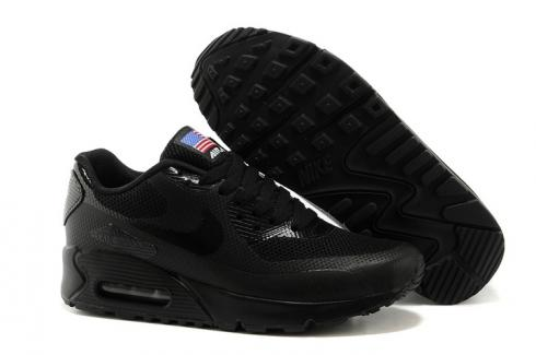 19bbd9639cb8 Nike Air Max 90 Hyperfuse QS Women Shoes All Pink Red July 4TH ...