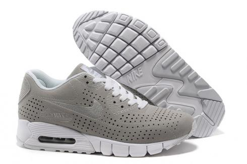 Nike Air Max 90 Current Moire Women Running Shoes Moon White 344081 016