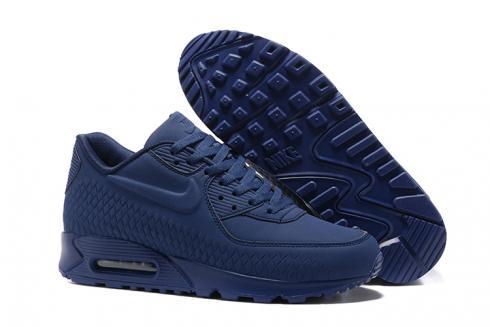 navy blue air max 90