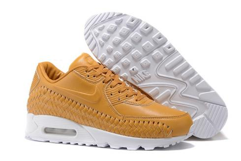 b85ca4a8c77 Nike Air Max 90 Woven Men Training Running Shoes Navy Blue Red White 833129-007  Item No. 833129-007