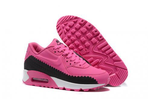 2533d2cc62f88 Prev Nike Air Max 90 Woven Womens Training Running Shoes Peach Blossom Black  833129-008