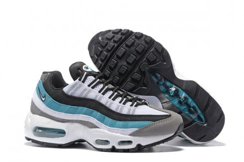Nike Air Max 95 20th Anniversary White Black Blue Gray Women Shoes