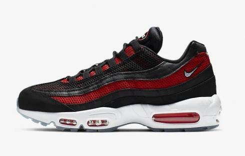 74963673de Nike Air Max 95 Essential White Bright Crimson Black Pure Platinum ...