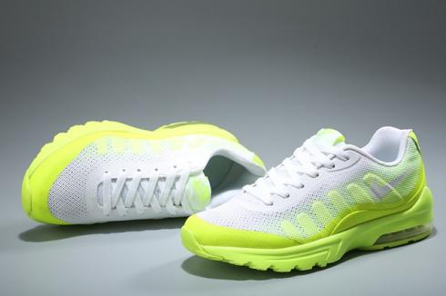 quality design 95d2e f8fdf Prev Nike Air Max Invigor Women Athletic Sneakers Running Shoes White Flu  Green 749866