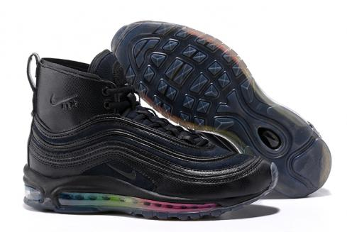 Nike Air Max 97 High Men Runnging Shoes Black all