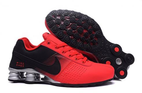 Nike Shox Deliver Men Shoes Fade Red Black Silver Casual Trainers Sneakers 317547