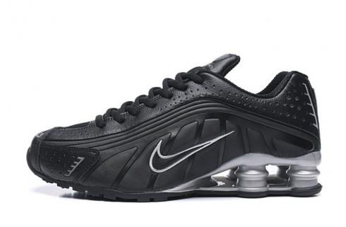 Nike Shox R4 301 Black Silver Men Retro Running Shoes BV1111-009