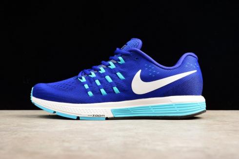 Nike Air Zoom Vomero 11 Blue Glow Dark Purple Classic 818099-404